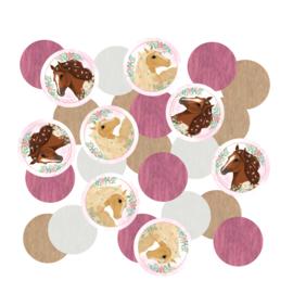 Paarden confetti zakje 14gr