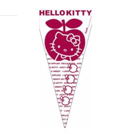 Hello Kitty snoepzakken plastic 6 stuks