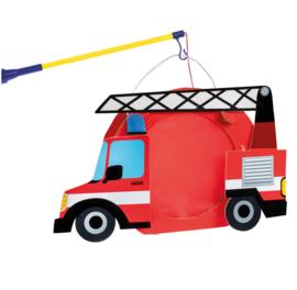 Brandweerwagen lampion 22cm