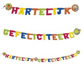 Sesamstraat letterslinger 180cm