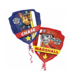 Paw Patrol folie ballon Chase Marshall