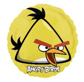 Angry Birds geel folie ballon 45cm