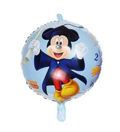 Mickey Mouse geslaagd folie ballon