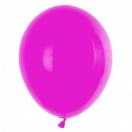Ballonnen  donker roze 10 stuks