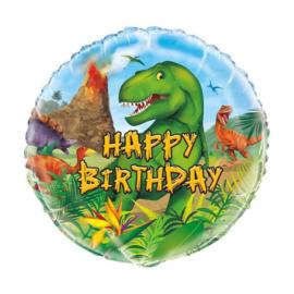 Dinosaurus folie ballon 45cm