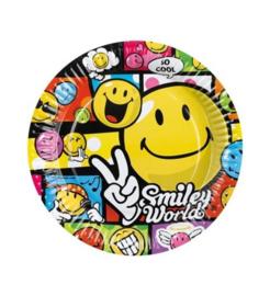 Emoji borden  Smiley World 8 stuks
