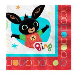 Bing konijn servetten 16 stuks 33x33cm