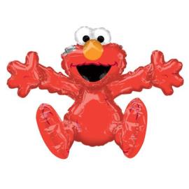 Elmo Sesamstraat ballon zittend 66cm