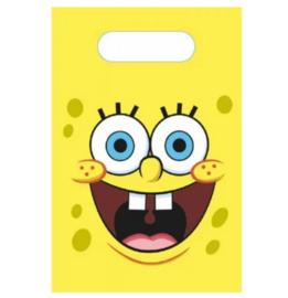 Spongebob feestzakjes 8 stuks