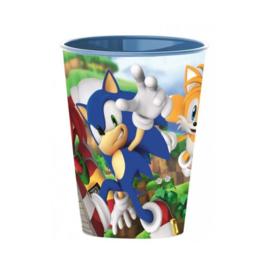 Sonic beker herbruikbaar plastic 260ml
