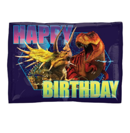 Jurassic World happy birthday folie ballon 42cm