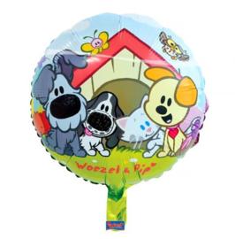 Woezel en Pip folie ballon 46cm