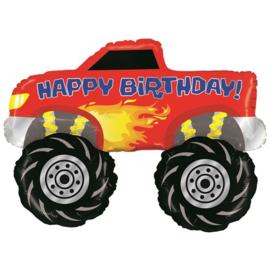 Monster truck folie ballon 101cm