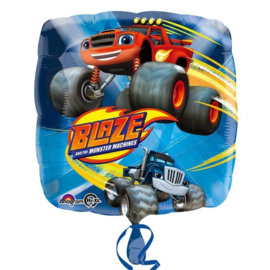 Blaze en de monsterwielen folie ballon 43cm