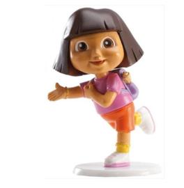Dora taart versiering 7,5cm