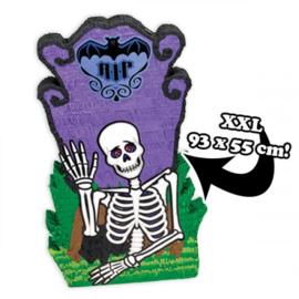 Halloween skelet XXL pinata versiering