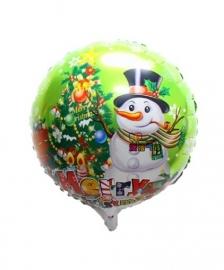 Folie ballon kerstmis