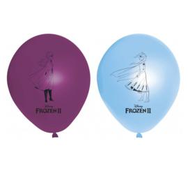 Frozen 2 ballonnen 8 stuks 28cm