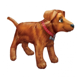 Hond folie ballon 91x60cm