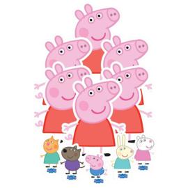 Peppa Pig versiering tafel set 11 stuks
