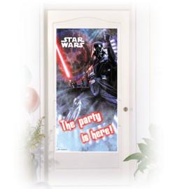 Star Wars deur banner plastic 152cm