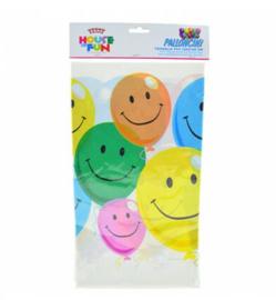 Verjaardag ballonnen tafelkleed plastic 120x180cm