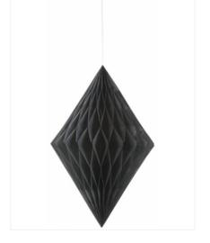 Hangdecoratie zwart
