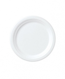 Borden wit 23 cm 16 stuks