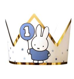 Nijntje kroon blauw 1 jaar