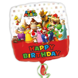 Super Mario folie ballon 32cm