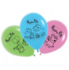 Peppa Pig ballonnen 5 stuks