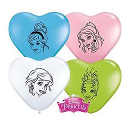 Prinsessen Disney ballonnen mini 5 stuks