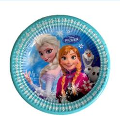 Frozen borden 15 stuks 20cm