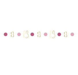 Nijntje stoelslinger roze 80cm