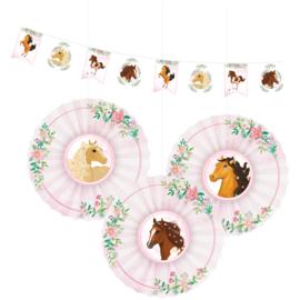 Paarden slinger + hangdecoratie