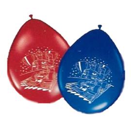 Formule 1 Max ballonnen  8 stuks