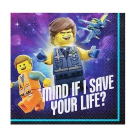 Lego Movie servetten 16 stuks 25x25cm