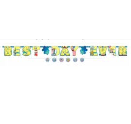 Spongebob Squarepants letterslinger 3,2m