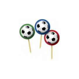 Voetbal prikkers 20 stuks