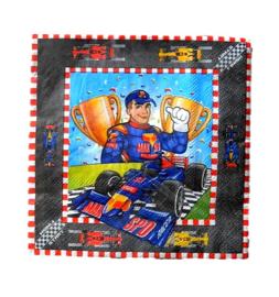 Formule 1 Max servetten 16 stuks 25cm