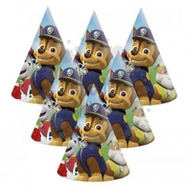 Paw Patrol feesthoedjes 6 stuks