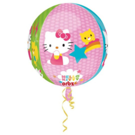 Hello Kitty folie ballon rondvormig 40x30cm