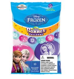 Frozen ballonslinger met 10 ballonnen