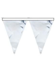 Zilveren vlaggenlijn 6m