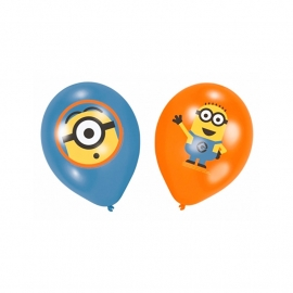 Ballonnen The Minions 6 stuks