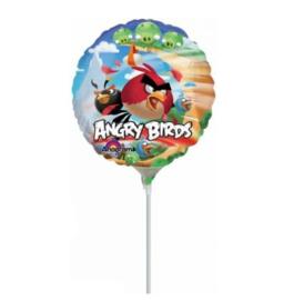 Angry Birds folie ballon op stok