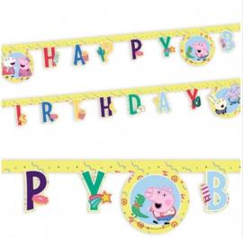 Peppa Pig letterslinger 2m
