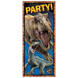Jurassic World deur versiering 68x152cm