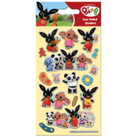 Bing konijn stickers