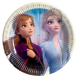 Frozen feestborden 6 stuks 23cm